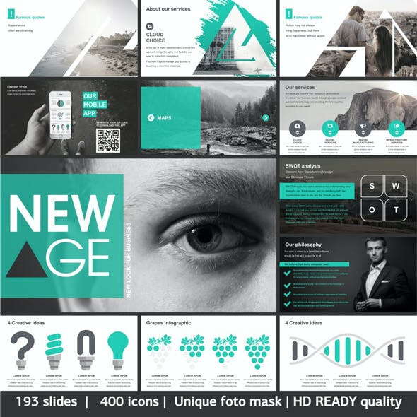 New Age Creative Keynote Template