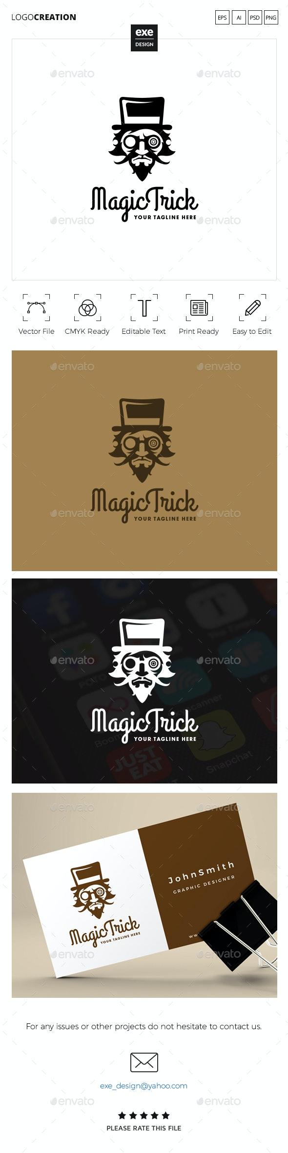 Magician Logo - Humans Logo Templates