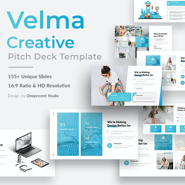 Velma Creative Powerpoint Template