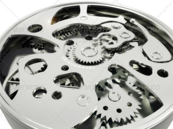 Mechanism of Hours - 3D Backgrounds