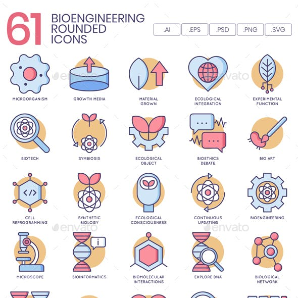 Biotechnology Icons