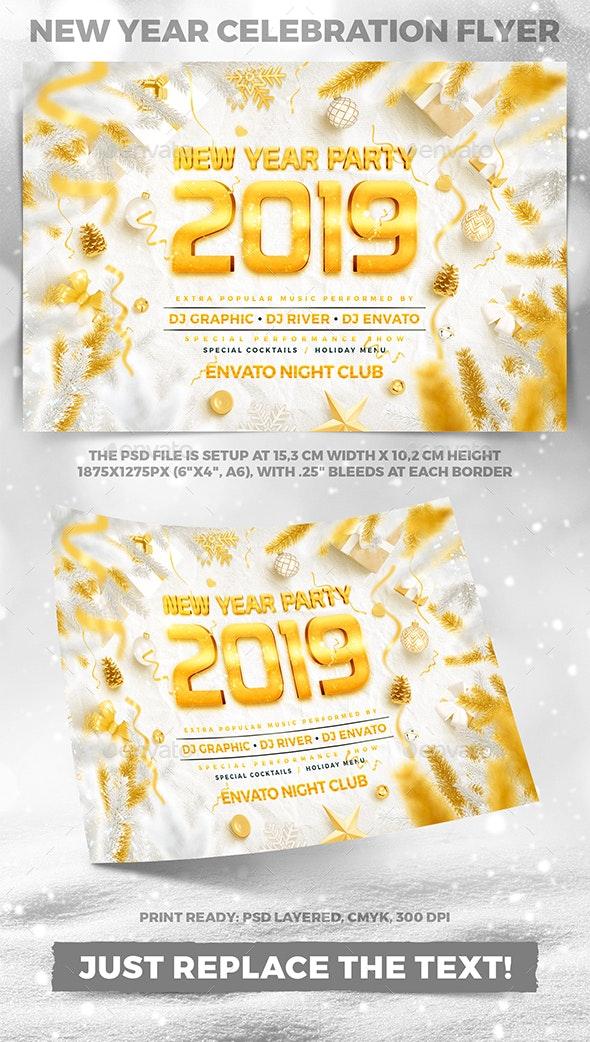 Christmas Celebration Party Flyer vol.2 - Holidays Events