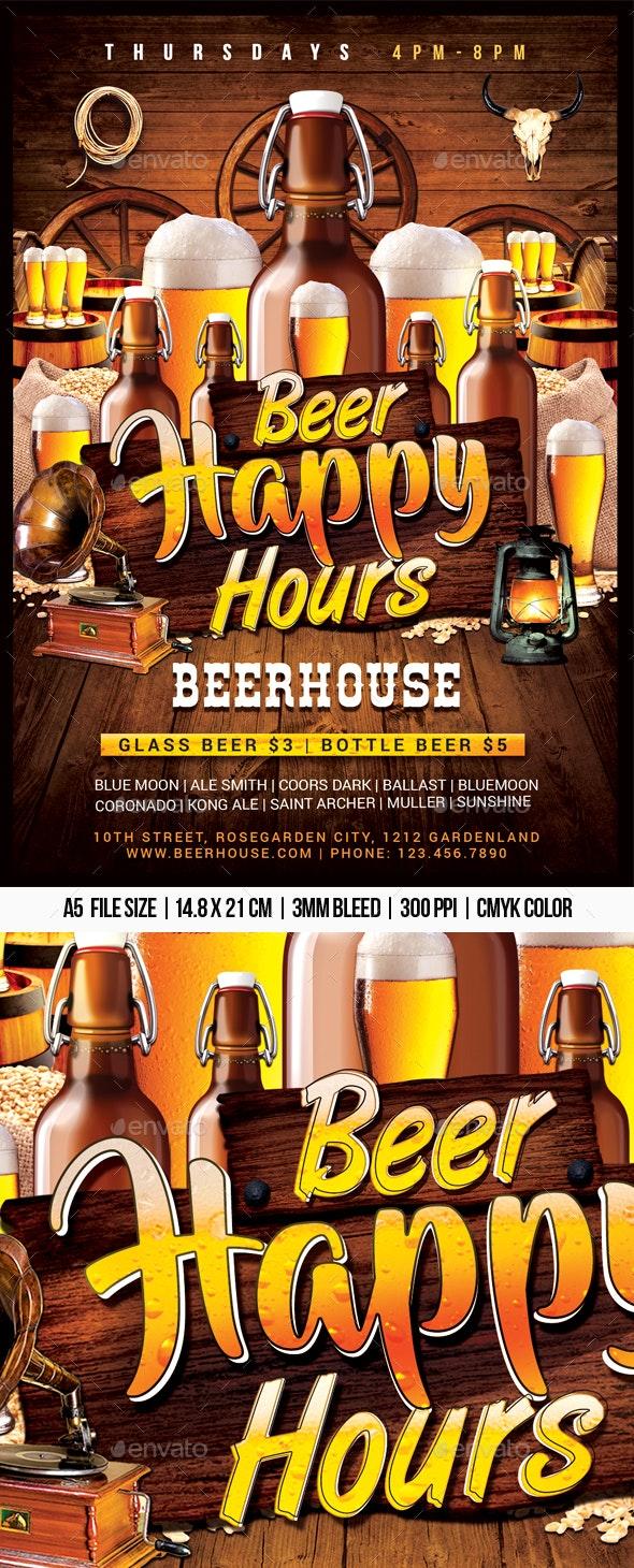 Beer Happy Hours - Clubs & Parties Events