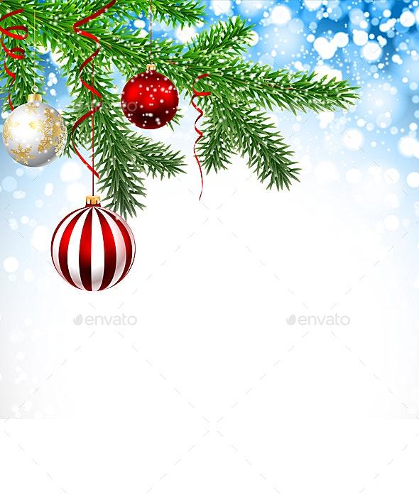 Christmas Branches - Christmas Seasons/Holidays