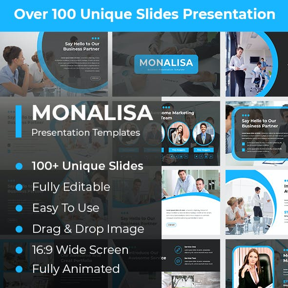 Monalisa Business PowerPoint