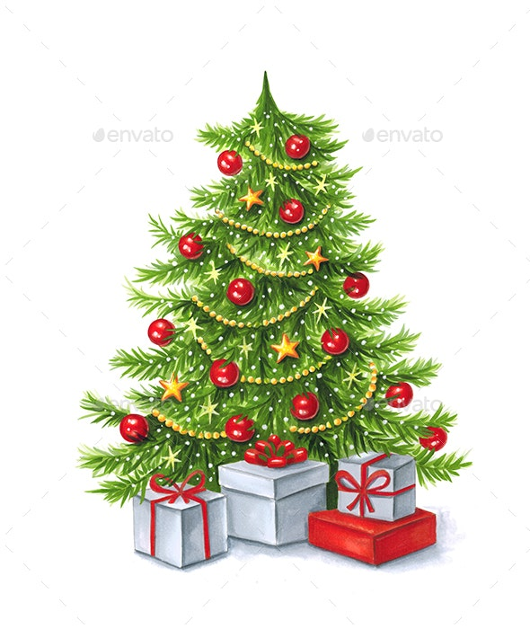 Christmas Tree - Illustrations Graphics