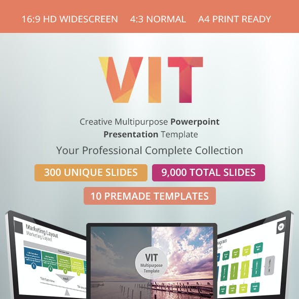VIT Multipurpose PowerPoint Presentation Template