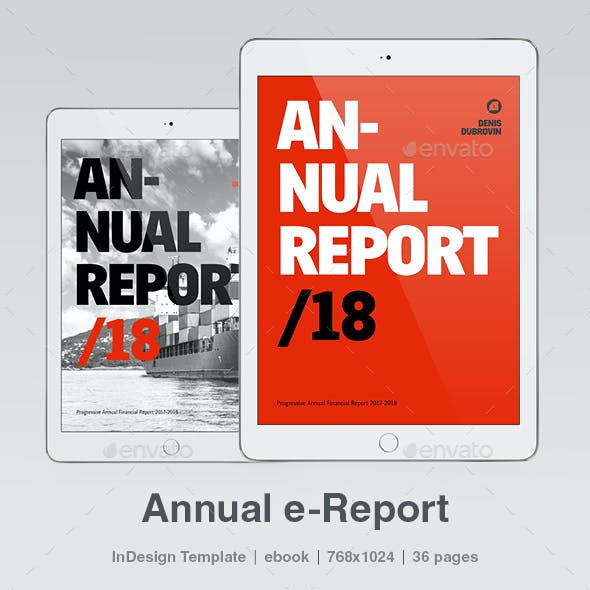 Annual e-Report 36 pages