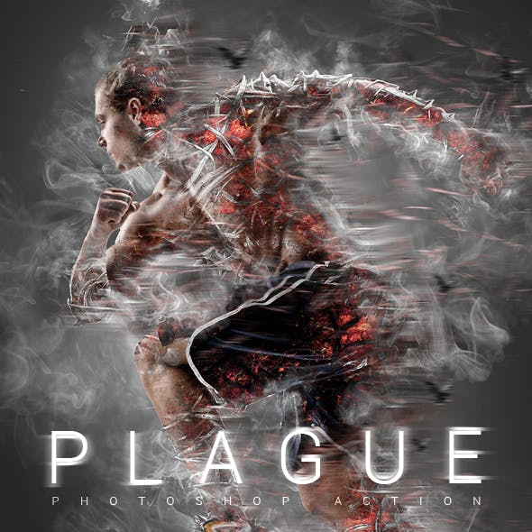 Plague Photoshop Action