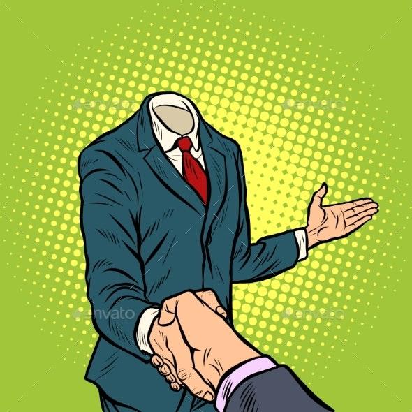 Businessman Handshake - Concepts Business