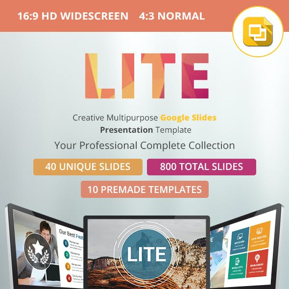 Lite Google Slides Presentation Template