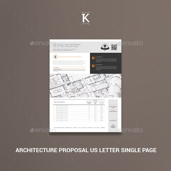 Architecture Proposal US Letter Single Page