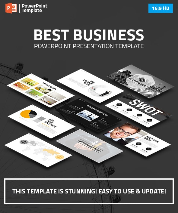 Business PowerPoint Presentation Template - Business PowerPoint Templates
