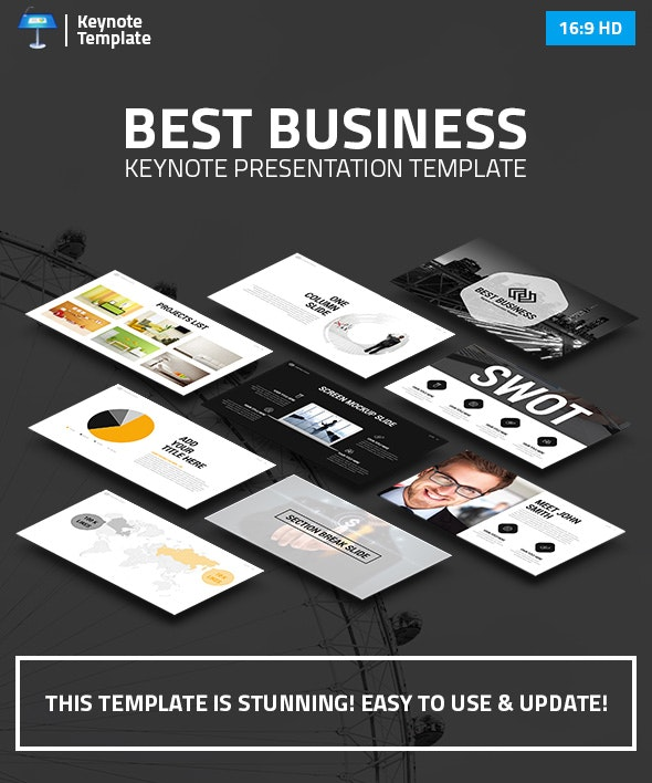 Business Keynote Presentation Template - Business Keynote Templates
