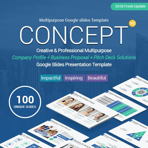 Concept Business Solutions Google Slides Template Theme