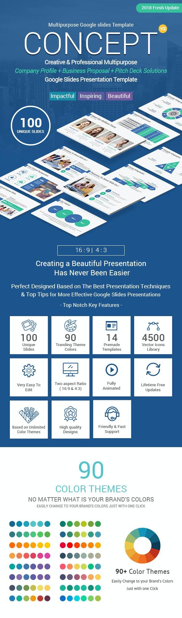 Concept Business Solutions Google Slides Template Theme - Google Slides Presentation Templates