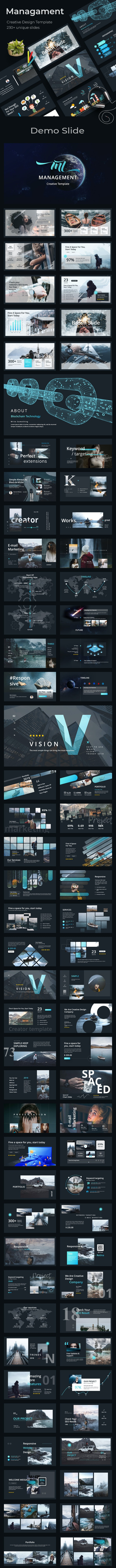 Management Creative Powerpoint Template - Creative PowerPoint Templates