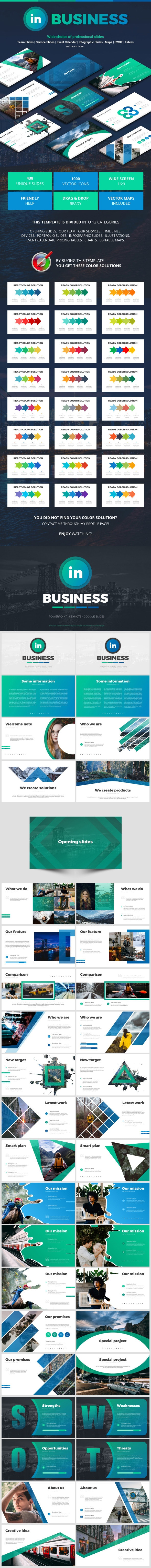In Business - Business Keynote Templates