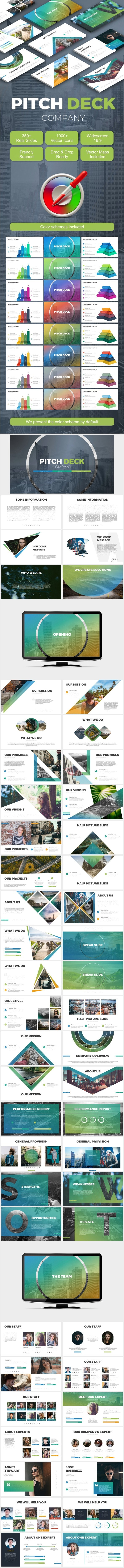 Pitch Deck - Business PowerPoint Templates