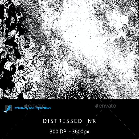 Distressed Ink Backgrounds