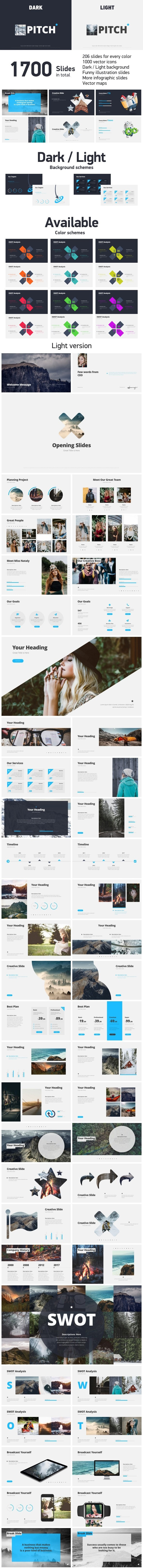 Pitch Deck Template - Business Keynote Templates