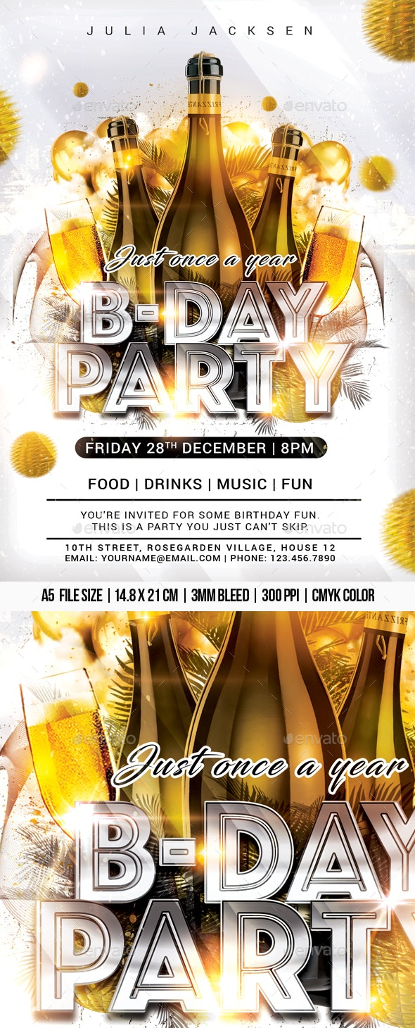 B-Day Party - Clubs & Parties Events