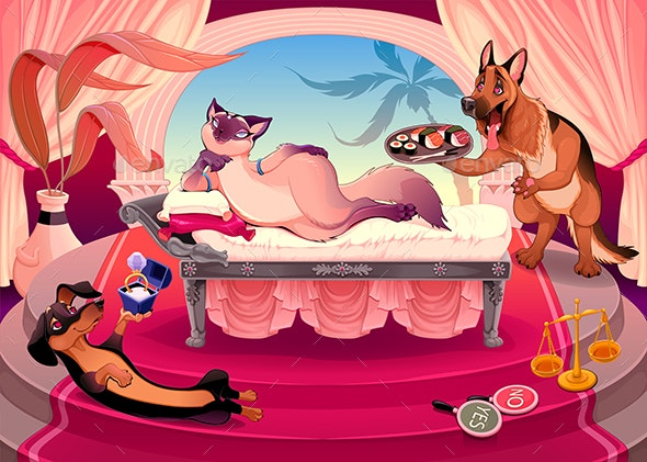 The Art of Seduction - Animals Characters