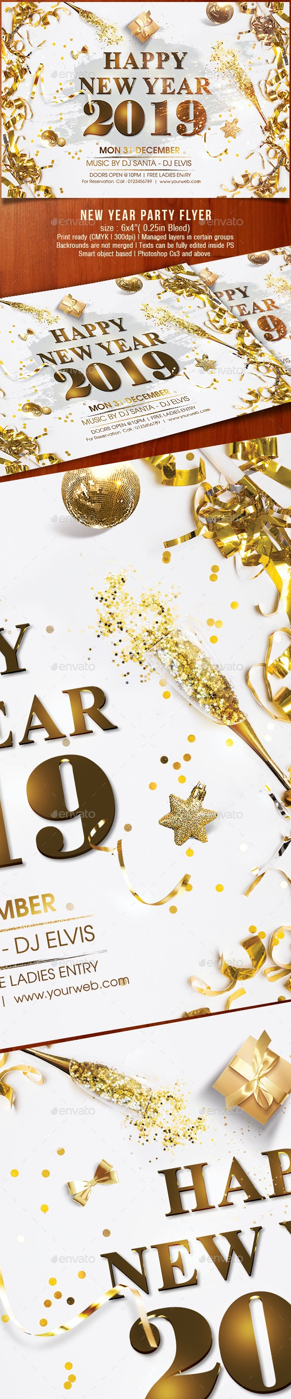 Happy New Year 2019 - Holidays Events