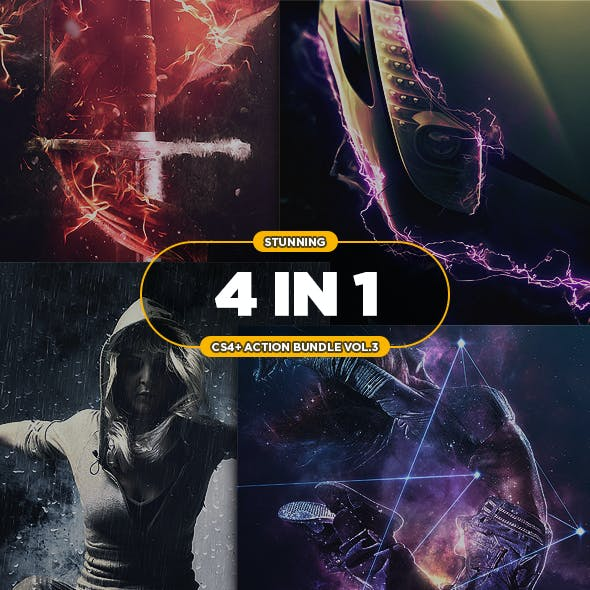 4 in 1 Stunning Bundle vol.3
