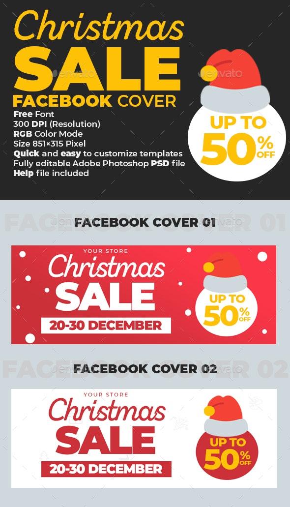 Christmas Sale Facebook Cover - Facebook Timeline Covers Social Media