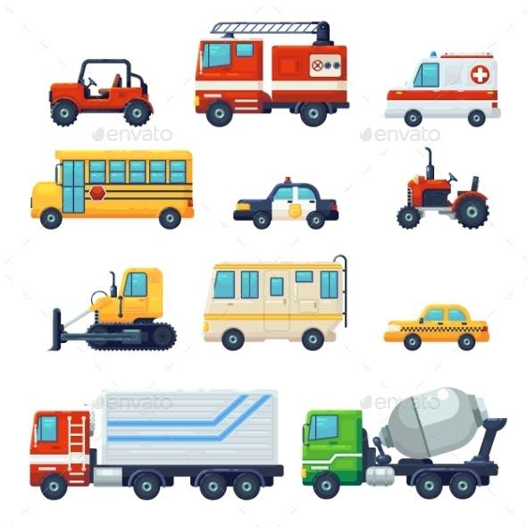 Heavy Industrial Vehicle Car