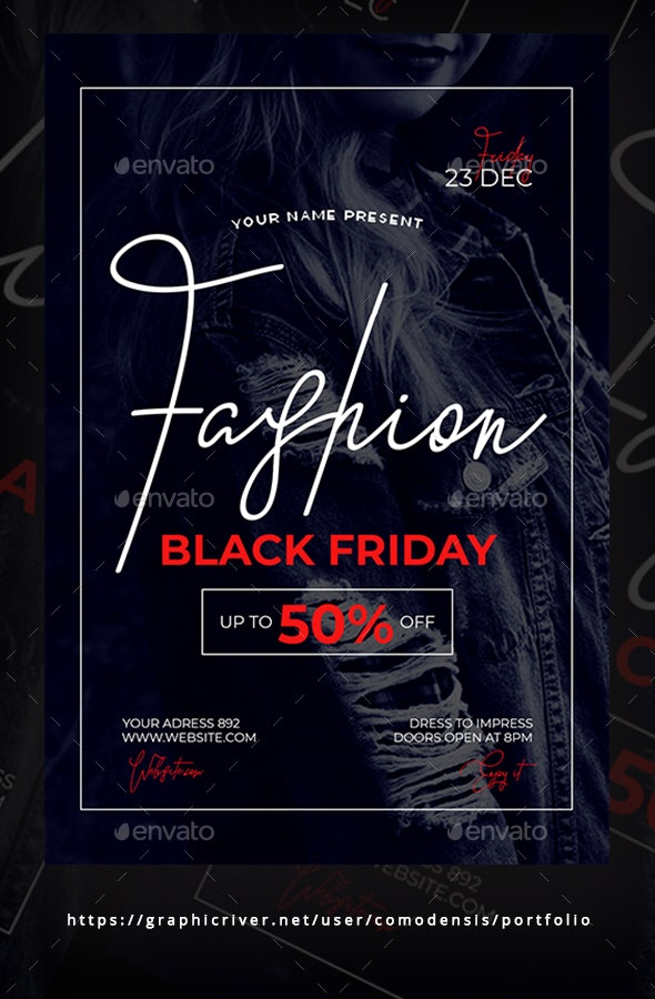 Black Friday Flyer Templates - Clubs & Parties Events