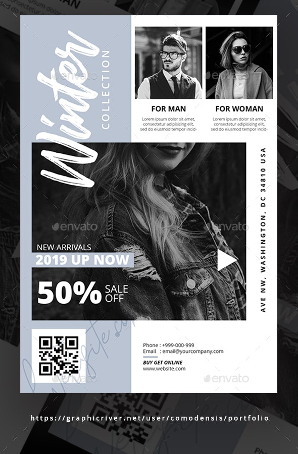 Fashion Flyer Templates - Clubs & Parties Events