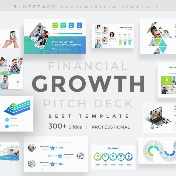 Financial Growth Pitch Deck Keynote Template