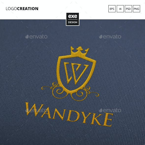 Luxury Letter W Logo