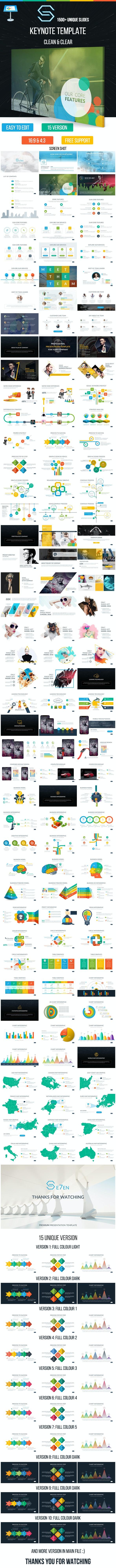 S Keynote Presentation Template - Creative Keynote Templates