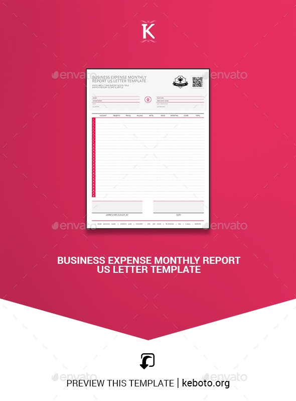 Monthly Business Expense Template from graphicriver.img.customer.envatousercontent.com