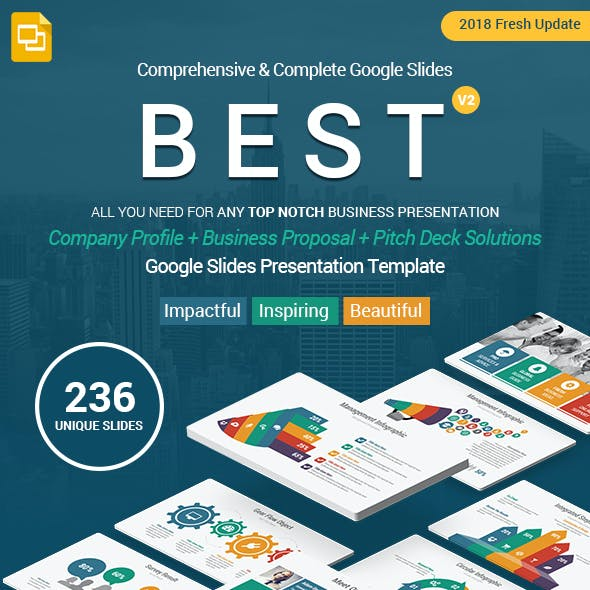 Complete Business Solutions Best Google Slides Template Theme
