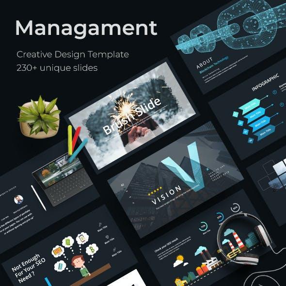 Management Creative Keynote Template