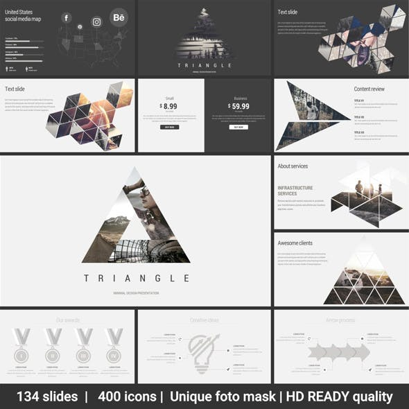 Triangle Minimal Keynote Template