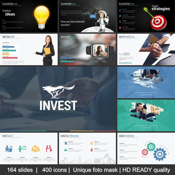 Invest Keynote Template System