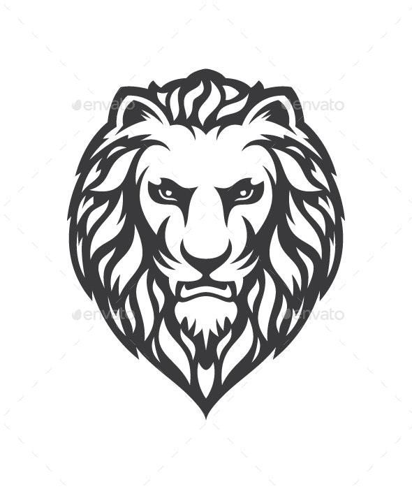 Lion Vector Illustration - Tattoos Vectors