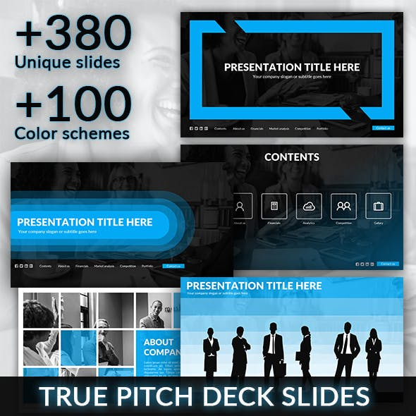 Interface - Pitch Deck Presentation Template