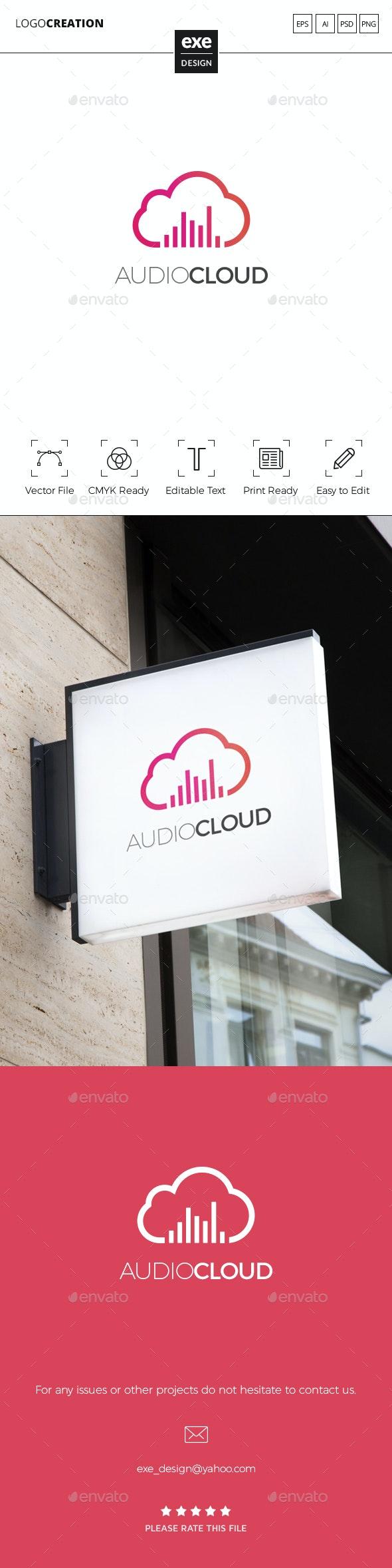 Cloud Logo - Nature Logo Templates