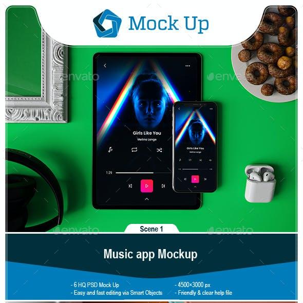 Music App Mockup