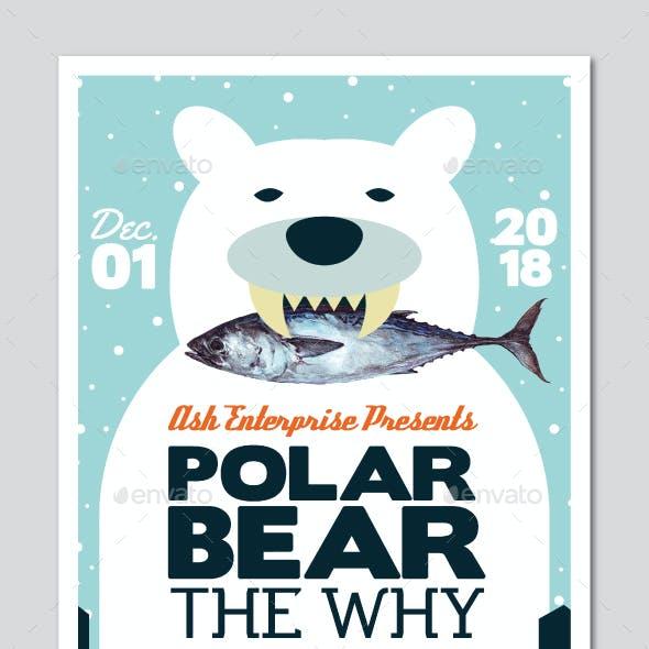Bear Indie Gig Flyer
