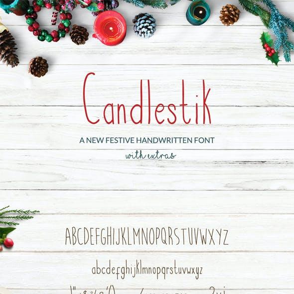 Candlestik Font