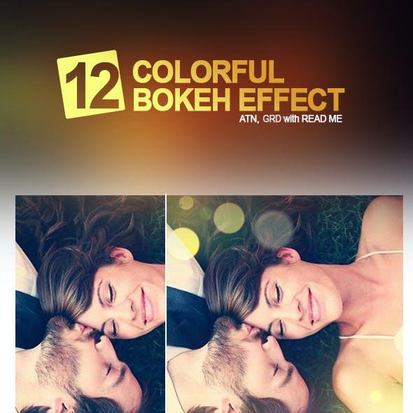 12 Colorful Bokeh Effect
