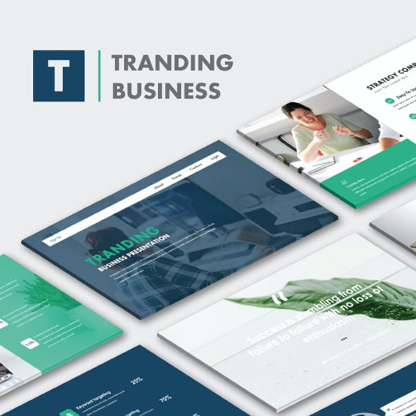 Tranding Business Keynote Templates