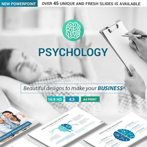 Psychology PowerPoint Presentation Template